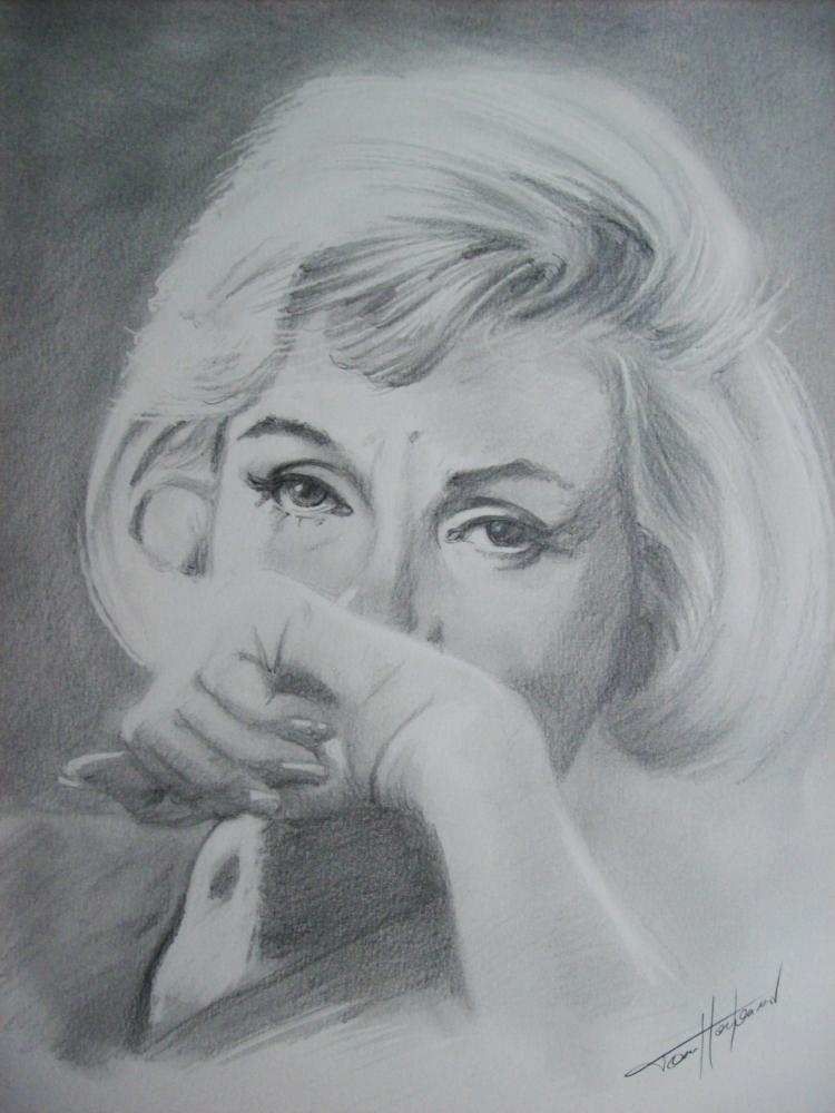 Marilyn Monroe par Tom-Heyburn